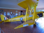 narrandera;narrandera-visitor-information-centre;narrandera-tiger-moth-memorial;dh82-tiger-moth;tiger-moth;yellow-airplane;yellow-tiger-moth;WWII-tiger-moth;new-south-wales;newell-highway;steven-david-miller