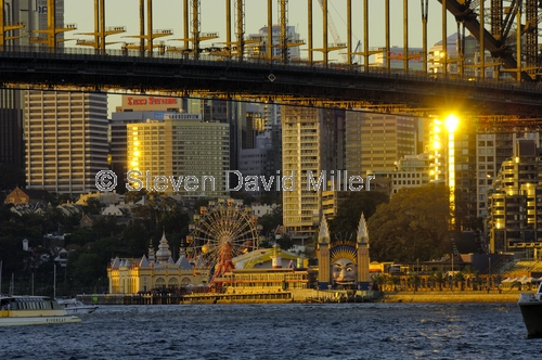 sydney;milsons point;luna park;sydney harbour bridge;sydney harbour;sydney harbor;steven david miller;natural wanders