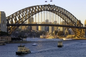 sydney;sydney-harbour;sydney-harbor;sydney-harbour-bridge;milsons-point;luna-park;steven-david-mille