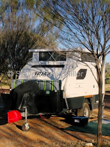 gemtree caravan park;gemtree;camping;caravan in campground;4wd caravan;four wheel drive caravan;offroad caravan;central australia;steven david miller;northern territory;natural wanders