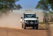 mary-river-national-park;mary-river;shady-camp;mary-river-4wd;dusty-road;outback-dust;driving-in-dust;northern-territory;northern-territory-national-park