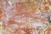 aboriginal-rock-art;australian-rock-art;stenciled-rock-art;painted-rock-art;arnhem-land-rock-art;mount-borradaile;davidsons-arnhemland-safaris;davidsons-arnhemland-safaris;post-contact-rock-art