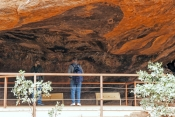 uluru-kata-tjuta-national-park;uluru-national-park;uluru;ayers-rock;uluru-rock-art-site;uluru-rock-art;mutitjulu-waterhole;rock-art-site-at-mutitjulu;rock-art-shelter;northern-territory;northern-territory-national-park;australian-national-park