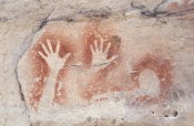 art-gallery;the-art-gallery;carnarvon-gorge;carnarvon-national-park;aboriginal-rock-art;stencil-rock-art;queensland-national-park;australian-national-park;aboriginal-rock-art