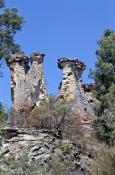 the-chimneys;sandstone-formations;sandstone-erosion;mount-moffat;carnarvon-national-park;sandstone-arch