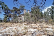 the-chimneys;sandstone-erosion;sandstone-formations;mount-moffat;carnarvon-national-park