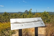 glasshouse-mountains-picture;glasshouse-mountains;glasshouse-mountains-national-park;queensland;beerwah;southern-queensland;volcanic-cone;volcanic-mountains;extinct-volcano;australian-national-park;queensland-national-park