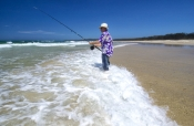 flinders-beach;stradbroke-island;north-stradbroke-island;straddie;beach-fishing;surf-fishing;fishing-on-beach;man-fishing;beach;queensland-island