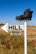 coober-pedy;coober-pedy-picture;coober-pedy-landscape;opal-mining-town;opal-mining-town-of-coober-pedy;boot-hill-cemetery;coober-pedy-street-sign;outback;australian-outback;south-australia;stuart-highway-town