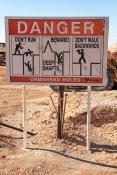coober-pedy;coober-pedy-picture;coober-pedy-mine;coober-pedy-mine-shaft-sign;coober-pedy-landscape;opal-mining-town;opal-mining-town-of-coober-pedy;coober-pedy-opal-mine;outback;australian-outback;south-australia;stuart-highway-town