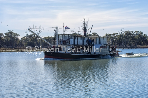 paddle steamer;paddlesteamer;murray river;renmark