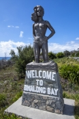 binalong-bay;st-helens;bay-of-fires;tasmania;tassie;tasmania-coastline;northeast-tasmania;welcome-to-binalong-bay;binalong-bay-statue;binalong-bay-welcome-statue