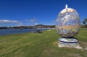 st-helens;tasmania;tassie;tasmania-coastline;northeast-tasmania;giant-mosaic;mosaic-egg