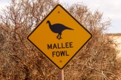 mallee-fowl;mallee-fowl-caution-sign;animal-caution-sign;wildlife-caution-sign;project-eden;shark-ba