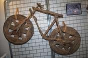 wooden-bicycle;recycled-bicycle;kalgoorlie;kalgoorlie-boulder;western-australian-museum-kalgoorlie;western-australian-museum;western-australia-gold-fields;gold-rush-town