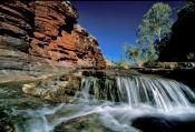kalamina-gorge;karijini;karijini-national-park;western-australia-national-parks;gorge;gorge-with-waterfall;karijini-gorge