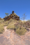 mirima-national-park;hidden-valley-national-park;kununurra;kimberley;sandstone-plateau;sandstone-formation;blue-sky;sandstone-scenery;red-rock-blue-sky;western-australia-national-park