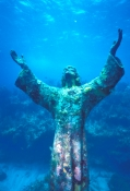 christ-of-the-abyss;underwater-statue;key-largo-marine-sanctuary;upper-florida-keys;florida-keys-marine-sanctuary;underwater-christ