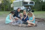 australian-family;family-camping;family-campfire