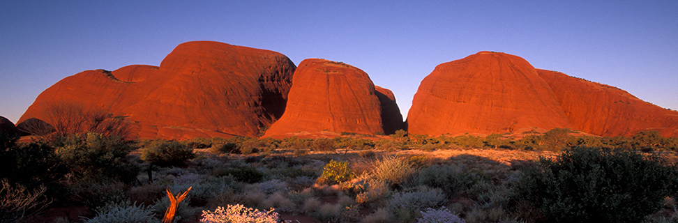 Sunset at Kata Tjuta, Uluru-Kata Tjuta National Park, Northern Territory, Australia