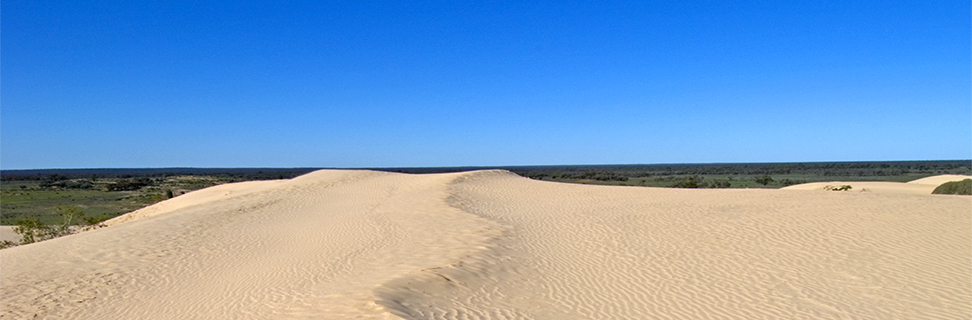 The Walls of China at Mungo National Park, New South Wales, Australia