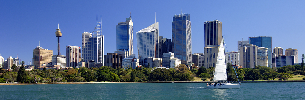 The Sydney Skyline, New South Wales, Australia