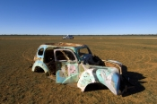 wrecked-car;outback-wreck;outback-scenery
