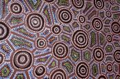 circular-quay;footpath-art;foot-path-art;dot-painting;sydney;aboriginal-art;steven-david-miller;natu