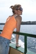 sydney-ferries;sydney-ferry;sydney-tourist-attractions;sydney-harbor;sydney-ferry-passenger;woman-on