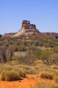 chambers-pillar-historical-reserve;chambers-pillar;window-rock;simpson-desert;northern-territory;aus
