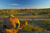 devils-marbles-pictures;devils-marbles;devils-marbles-conservation-reserve;person-at-devils-marbles;