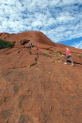 uluru-kata-tjuta-national-park;uluru-national-park;uluru;ayers-rock;visitors-climbing-uluru;visitors