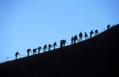 uluru;ayers-rock;uluru-kata-tjuta-national-park;climbing-uluru;climbing-ayers-rock;northern-territor