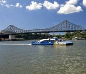 brisbane;queensland-capital-city;australian-city;brisbane-river;story-bridge;brisbane-ferry;city-fer