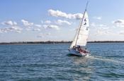 fraser-island;great-sandy-strait;hervey-bay;great-sandy-marine-park;sailboat-in-hervey-bay;sailboat-