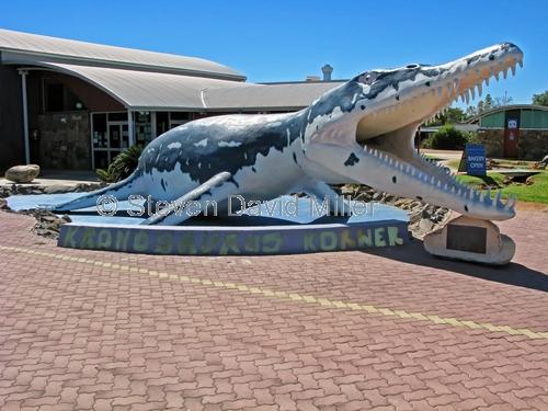 kronosaurus korner regional visitor information centre;marine fossil;kronosaurs queenslandicus;australian dinosaur;australian marine fossil;dinosaur trail;dinosaur replica;richmond