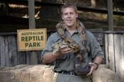 snake-demonstation;man-handling-snake;man-handling-python;australian-reptile-park;man-with-snake;man