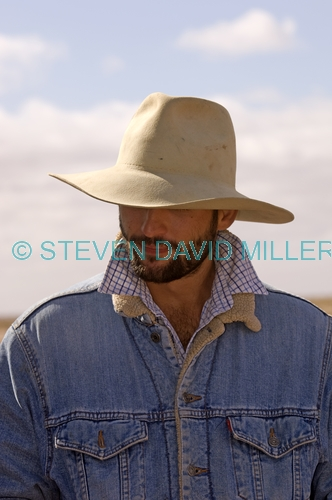 young australian man;young aussie;man with hat on;iconic australian man;outback man;station man;marree camel races